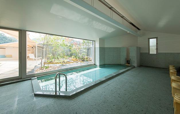 湯郷温泉旅館 季譜の里 女性大浴場(紅梅の湯)