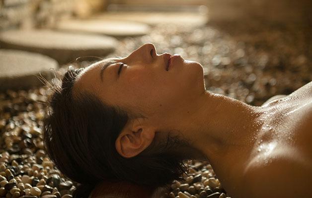 湯郷温泉旅館 季譜の里 薬石蒸風呂